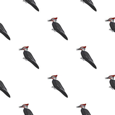 raptor: Kite icon in pattern style isolated on white background. Bird symbol vector illustration. Illustration