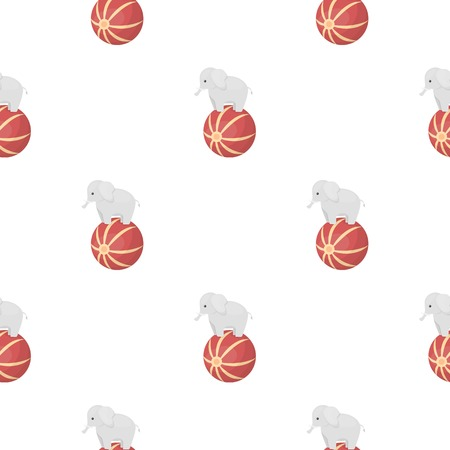 summer's: Lollipop icon in pattern style isolated on white background. Circus symbol vector illustration.