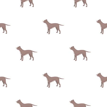 St. Bernard dog vector illustration icon in pattern design Illustration