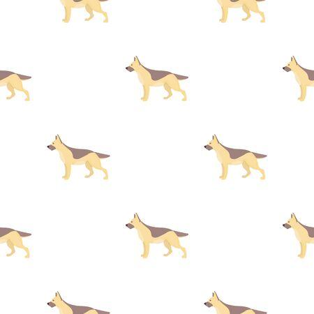 dalmatian: Dalmatian vector illustration icon in pattern design
