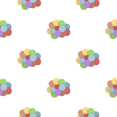 ecstasy: Ecstasy icon in cartoon style isolated on white background. Drugs symbol vector illustration.