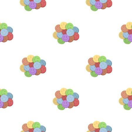 methamphetamine: Ecstasy icon in cartoon style isolated on white background. Drugs symbol vector illustration.
