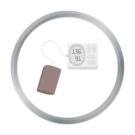 Tonometer icon cartoon. Single medicine icon from the big medical, healthcare cartoon.
