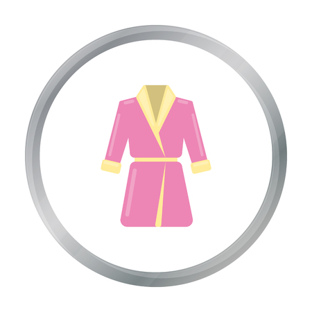Bathrobe icon of vector illustration for web and mobile Illustration