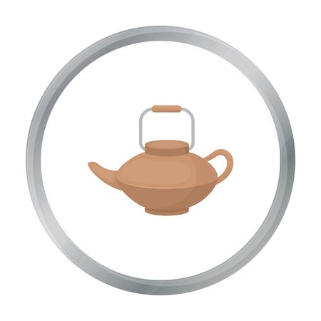 tetsubin: Tetsubin icon in cartoon style isolated on white background. Sushi symbol stock vector illustration. Illustration