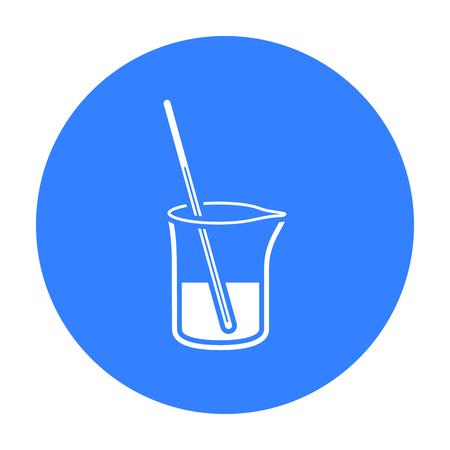 litre: Mixture icon black. Single medicine icon from the big medical, healthcare black.