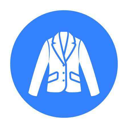 Business jacket icon of vector illustration for web and mobile Illustration