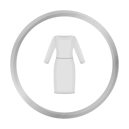 Long Dress icon of vector illustration for web and mobile