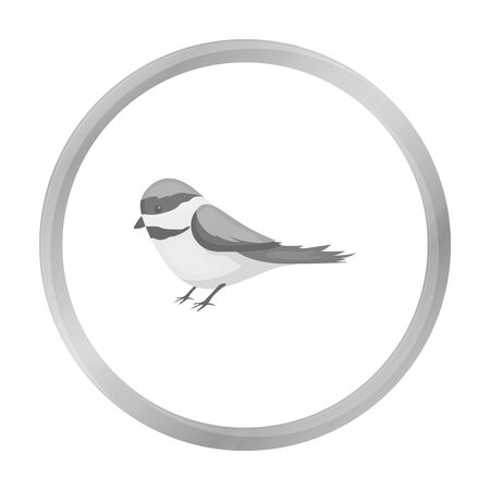 parus: Parus icon in monochrome style isolated on white background. Park symbol stock vector illustration.