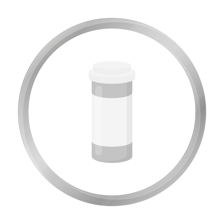 blisters: Medicines icon monochrome. Single medicine icon from the big medical, healthcare monochrome.