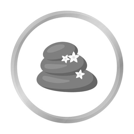 spa stone: Spa stone icon of vector illustration for web and mobile