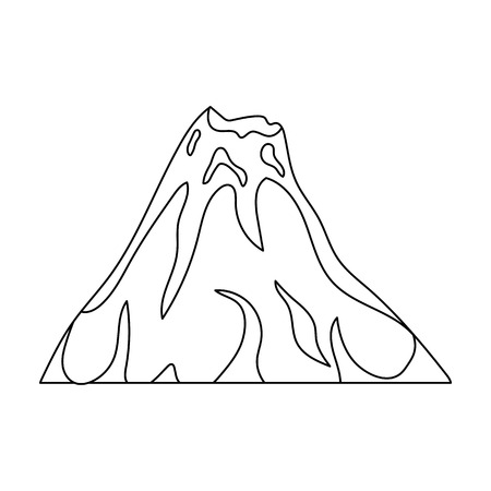A fiery volcanoa mountain in which there is a volcanic eruption a fiery volcanoa mountain in which there is a volcanic eruptiondifferent mountains maxwellsz