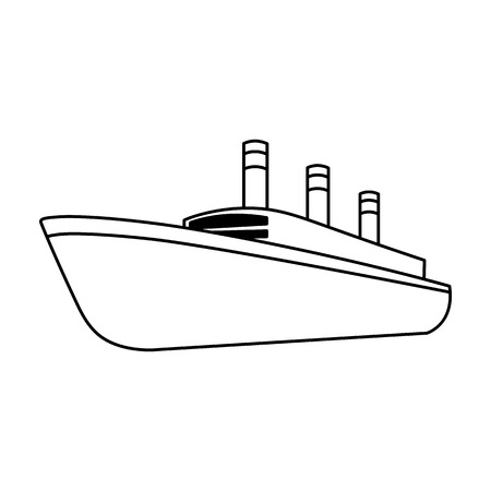thunderstorms: Huge cargo black liner.Ship for transportation of heavy thunderstorms on the sea and the ocean .Ship and water transport single icon in outline style vector symbol stock illustration.