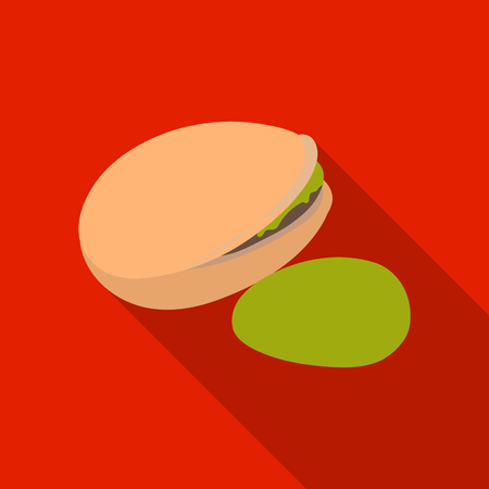 Green pistachio in the shell.Different kinds of nuts single icon in flat style vector symbol stock illustration.