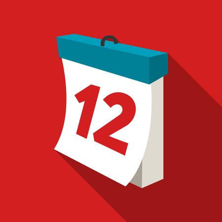 calendar icon: Calendar icon of vector illustration for web and mobile