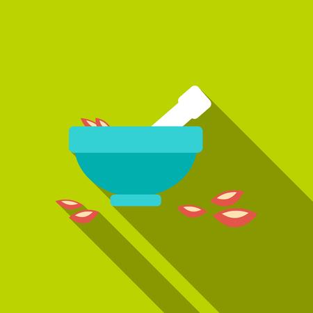 Salt bowl icon of vector illustration for web and mobile Illustration