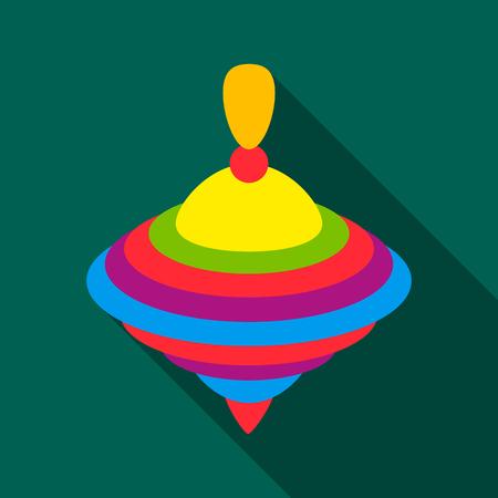 Icono de Whirligig flate. Ilustración para diseño web y móvil.