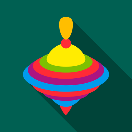 Whirligig flate icon. Illustration for web and mobile design.