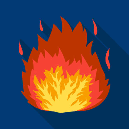 dynamite: Explosion icon in flat style isolated on white background. Explosions symbol stock vector illustration. Illustration