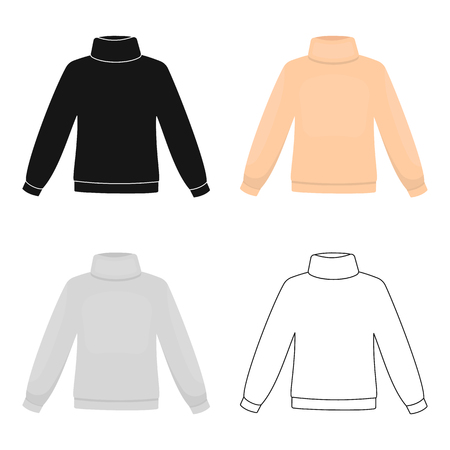 Sweater icon of vector illustration for web and mobile