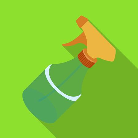 Spray.Barbershop single icon in flat style vector symbol stock illustration web.