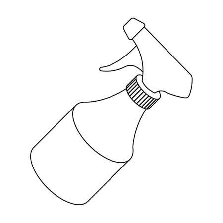 Spray.Barbershop single icon in outline style vector symbol stock illustration web.