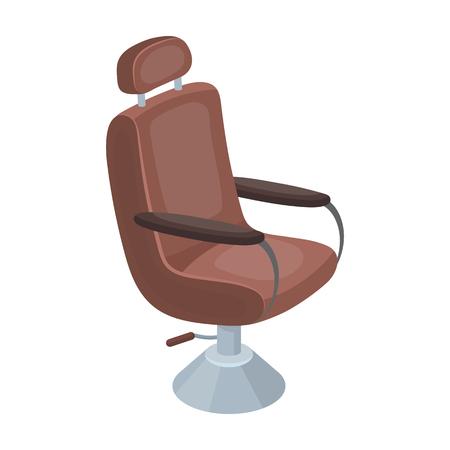 Armchair.Barbershop single icon in cartoon style rater,bitmap symbol stock illustration web.