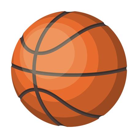 Basketball.Basketball 単一ビットマップ シンボル ストック イラスト web 漫画スタイル評価者のアイコン。