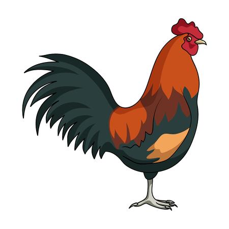家のコック。動物は単一ビットマップ シンボル ストック イラスト web 漫画スタイル評価者のアイコンです。 写真素材
