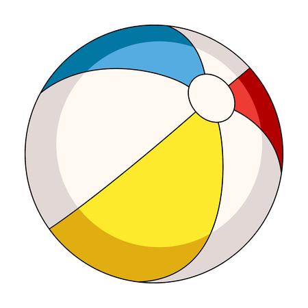 Inable なるように色とりどりのボール。夏漫画スタイル評価者、ビットマップ シンボル ストック イラストの残り 1 つのアイコン。
