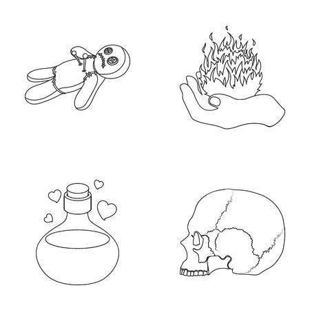 A Voodoo Doll A Magical Fire A Love Potion A Skull And