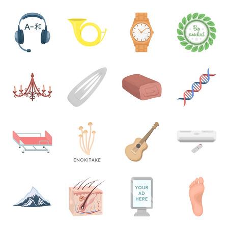 literas: Salud, belleza, comida y otros iconos de web en estilo de dibujos animados. Caza, entretenimiento, iconos de servicio en la colección de conjunto.