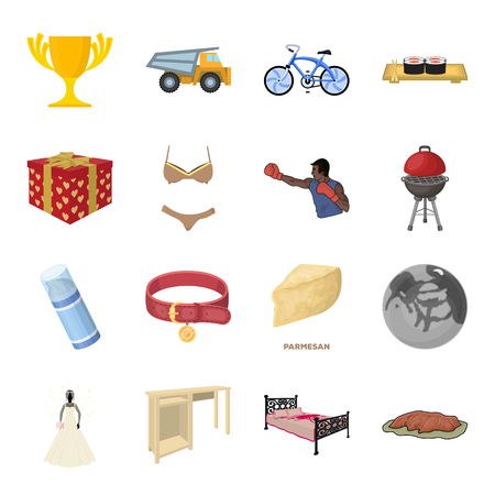 Transportation, mine, space and other web icon in cartoon style.Furniture, sport, wedding icons in set collection.