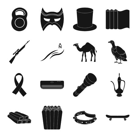 griffon: Sport, theater, typography, weapons and other web icon in black style.weather, animal, food, equipment icons in set collection.