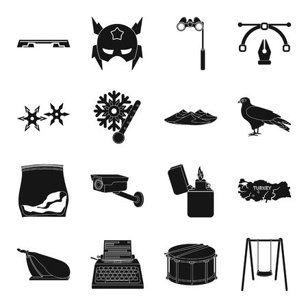 theatre masks: Sports, typography, weather and other web icon in black style.travel, food, tool icons in set collection. Illustration