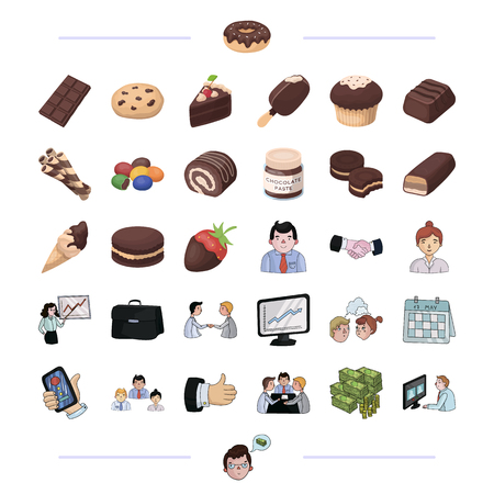 cupcakes isolated: Finance, bank, staff and other web icon in black style.dessert, sweet, confectioner icons in set collection.