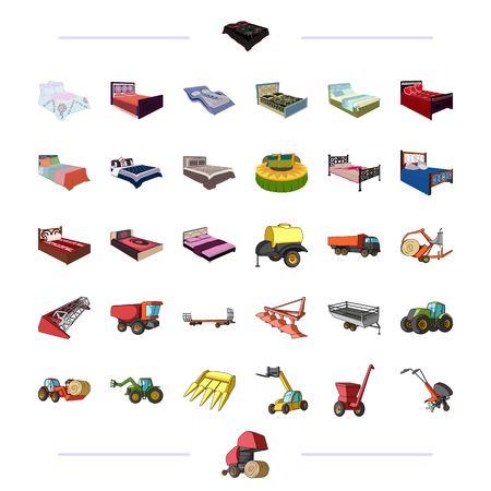 Furniture, business, trade and other web icon in cartoon style.agriculture, economy, industry icons in set collection.