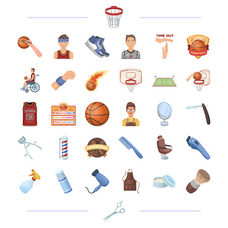 sport, achievements, competitions and other web icon in cartoon style. salon, care, cosmetology, icons in set collection.