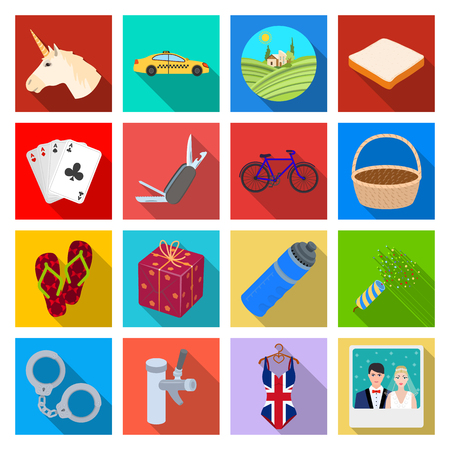 violator: industry, entertainment, casino and other  icon in flat style.leisure, commerce, business, icons in set collection