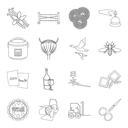 diamond plate: Art, alcohol, cooking and other web icon in outline style.transport, travel, medicine icons in set collection.