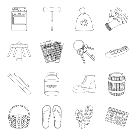 pump shoe: entertainment, sport, transportation and other web icon in outline style.kitchen, travel, alcohol icons in set collection.