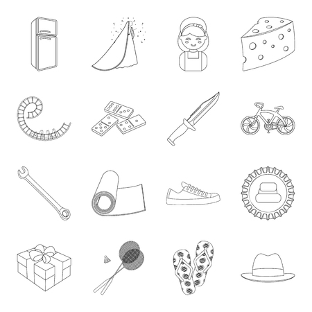 damp: sports, fitness, wedding and other web icon in outline style.electrical appliance, food, service icons in set collection.