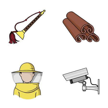 art, beekeeping and other web icon in cartoon style.cooking, security icons in set collection.