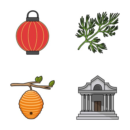 travel, beekeeping and other web icon in cartoon style.Cooking, finance icons in set collection.