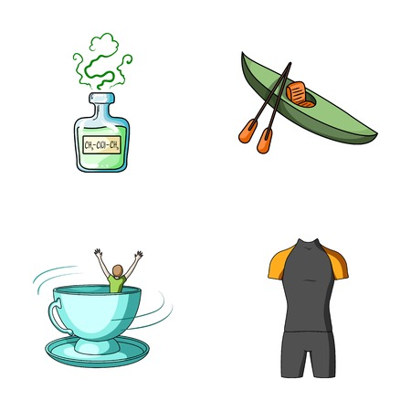 oars: Laboratory, medicine, business and other web icon in cartoon style