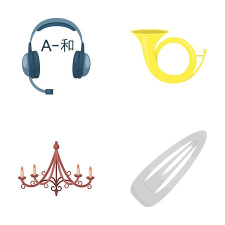 Business, information, entertainment and other icons in cartoon style set collection.