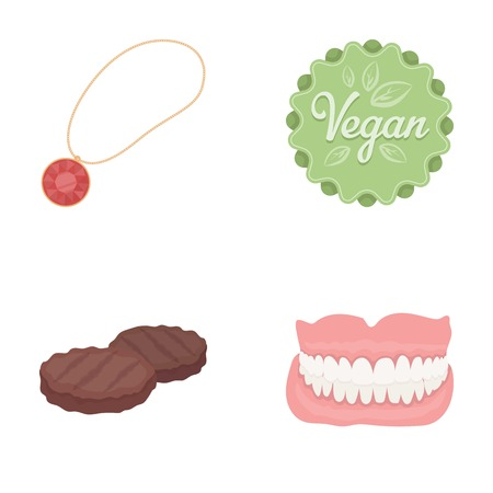 hygiene, business, products and other  icon in cartoon style.lips, teeth, grin, icons in set collection