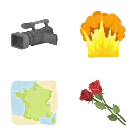 nature, business, information and other  icon in cartoon style.ecology, cinematography, holiday icons in set collection.