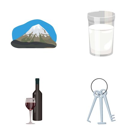 sour cream: travel, alcohol and other web icon in cartoon style.robbery, food icons in set collection.