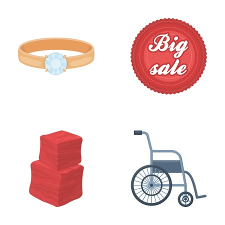 advertising, medicine, trade and other web icon in cartoon style.hospital, convenience, business, icons in set collection.